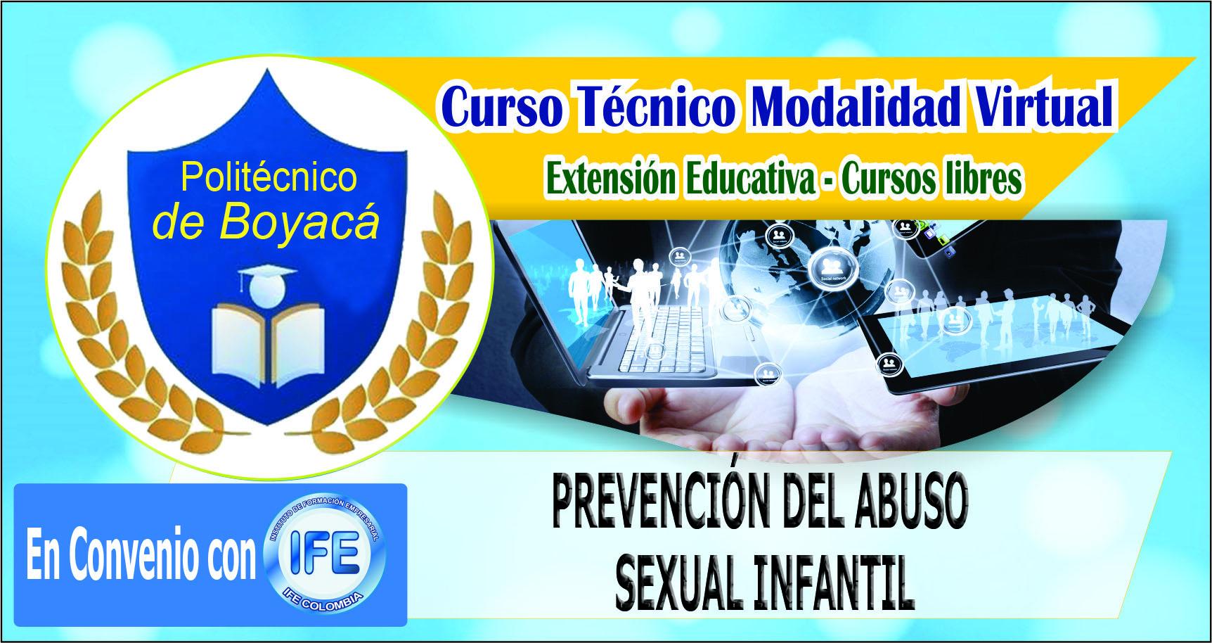 CURSO TÉCNICO EN PREVENCIÓN DEL ABUSO SEXUAL INFANTIL