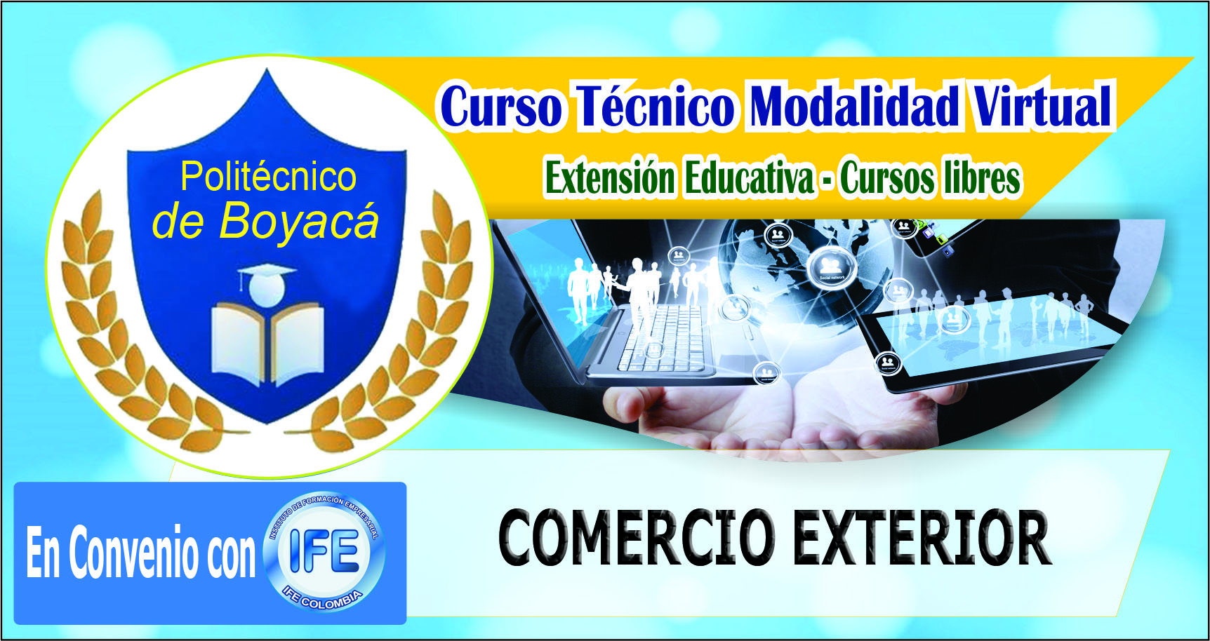 CURSO TÉCNICO EN COMERCIO EXTERIOR