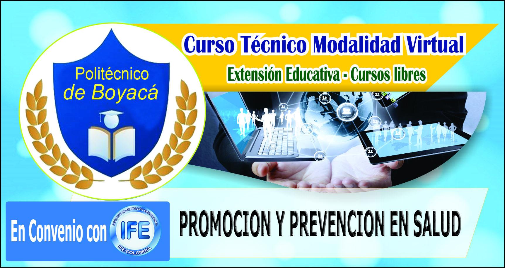 CURSO TÉCNICO EN PROMOCION Y PREVENCION EN SALUD